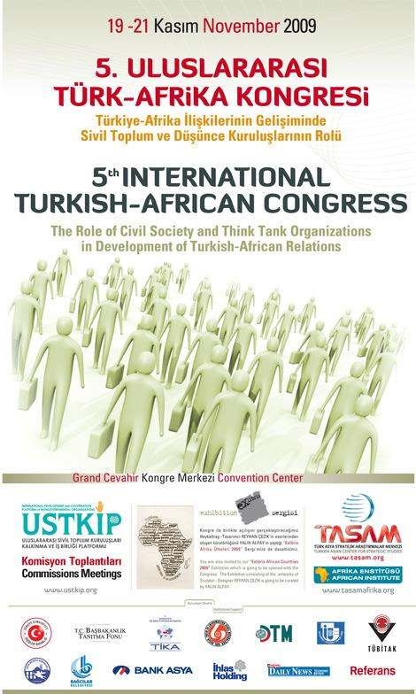 5th International Turkish - African Congress