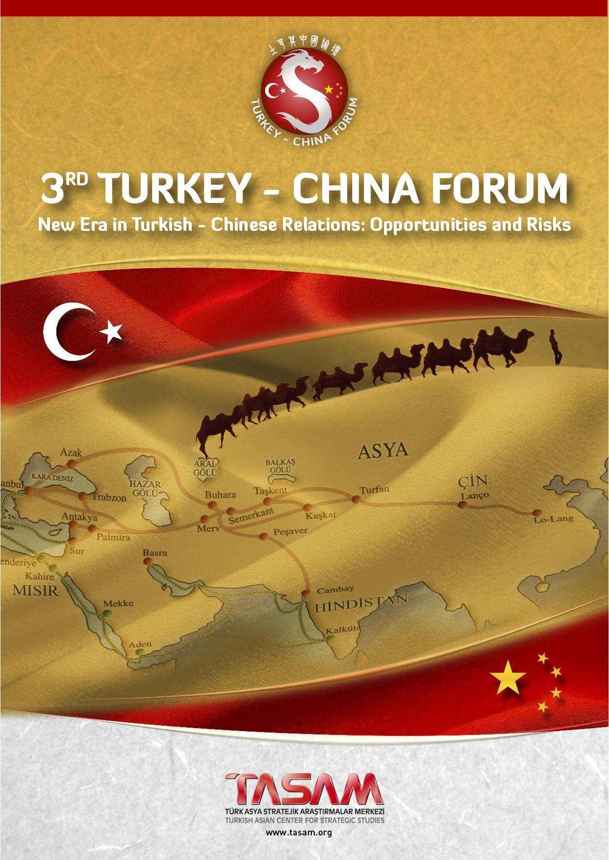 3rd Turkey - China Forum