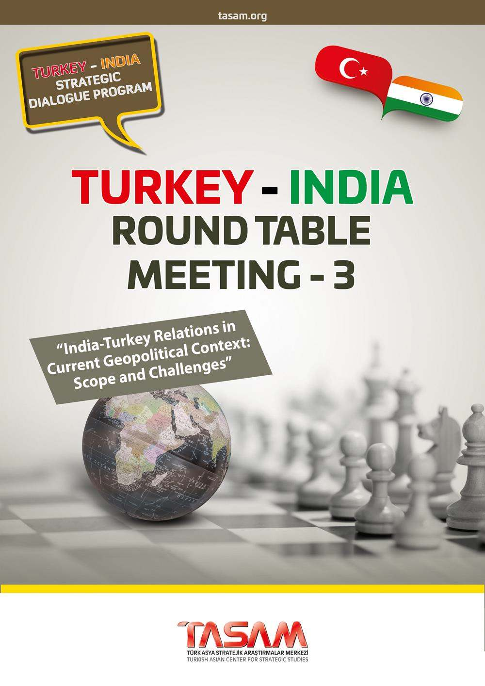 Turkey - India Round Table Meeting - 3