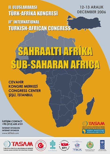 2nd International Turkish - African Congress