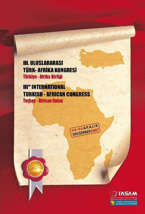 3rd International Turkish - African Congress