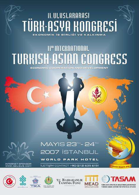 2nd International Turkish - Asian Congress