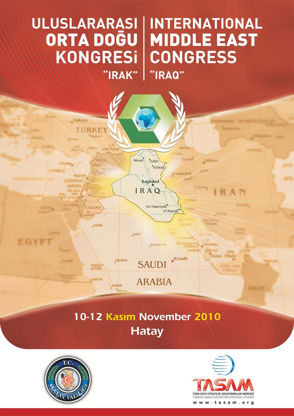 1st International Middle East Congress