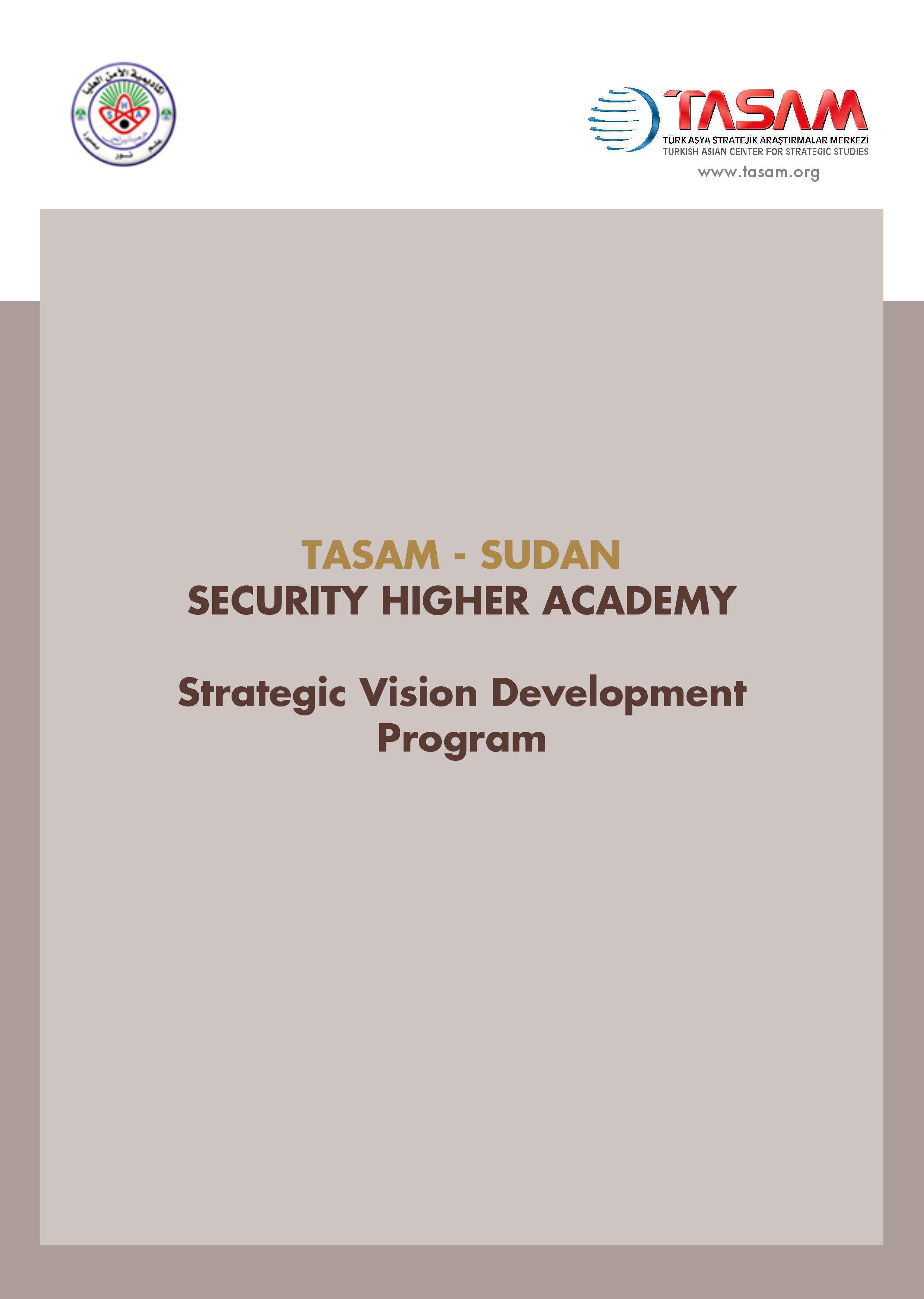 TASAM - Higher Security Academy in Sudan