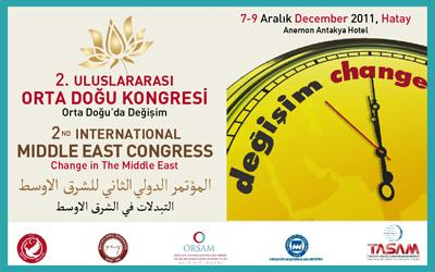 2nd INTERNATIONAL MIDDLE EAST CONGRESS