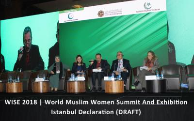 WISE 2018 | Istanbul Declaration (DRAFT)