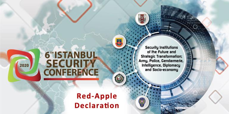 6th Istanbul Security Conference (2020)  |  Red-Apple Declaration