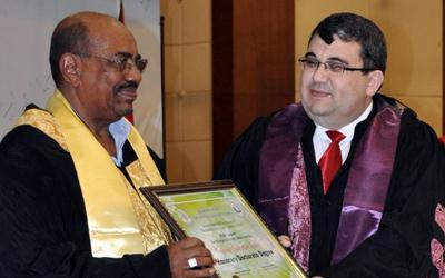 Honorary Doctorate to the Chairman of TASAM
