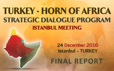 Turkey- Horn of Afrıca Istanbul Meetıng FINAL REPORT (DRAFT)
